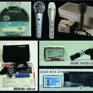 Pack de Micrófonos de mano
